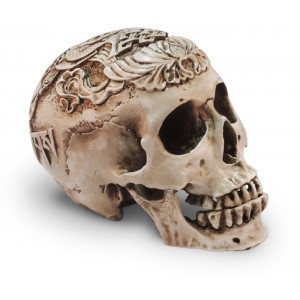 Резной череп из пластика купить в Москве